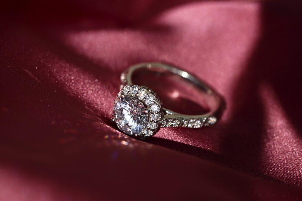 beague en diamant